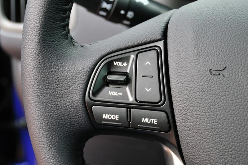 как настроить кнопки на руле киа рио